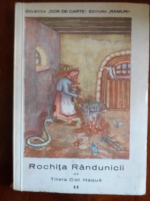 Rochita randunicii - Titela Col. Haque / R4P3S