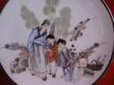 FARFURIE DECORATIVA PORTELAN ENGLEZESC FINE BONE CHINA COLECTIA ORIENTAL GARDENS