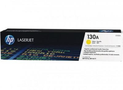 """Toner Original pentru HP Yellow 130A, compatibil M176/M177, 1000pag """"CF352A"""" foto"""