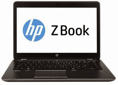 Laptop Second Hand Hp Zbook 14, Intel Core i7-4600U 2.10Ghz, 16GB DDR3, 256GB SSD, 14 inch, LED display foto