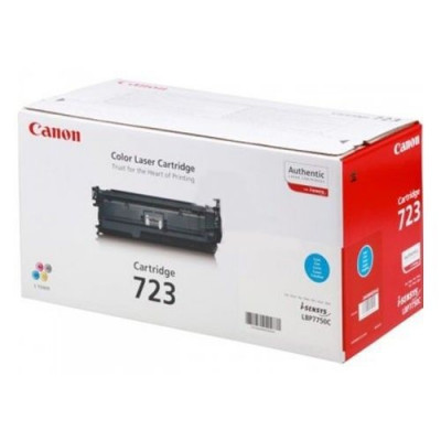 Toner Original pentru Canon Cyan CRG-723C, compatibil LBP7750CDN, 8500pag... foto