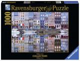 Puzzle Honfleur, 1000 piese, Ravensburger