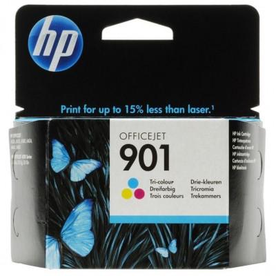Cartus cerneala Original HP Tri-color 901, compatibil OfficeJet... foto