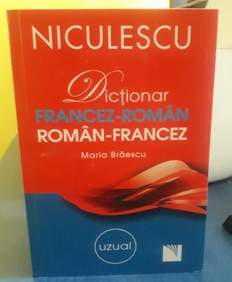 Dictionar Uzual Francez-Roman / Roman-Francez foto