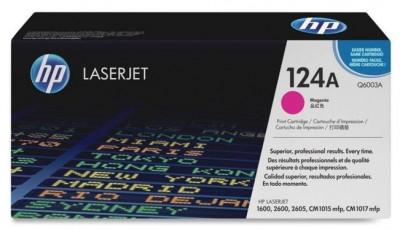 """Toner Original pentru HP Magenta, compatibil LJ 2600, 2000pag """"Q6003A"""" foto"""
