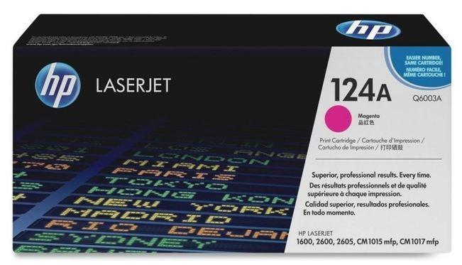 """Toner Original pentru HP Magenta, compatibil LJ 2600, 2000pag """"Q6003A"""""""