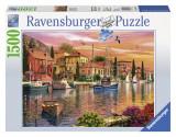 Puzzle PORT MEDITERANEAN 1500 piese, Ravensburger