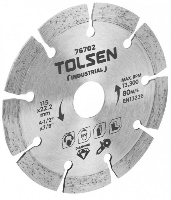 Lama de taiere diamantata (Industrial) 115x22.2 mm 10 mm