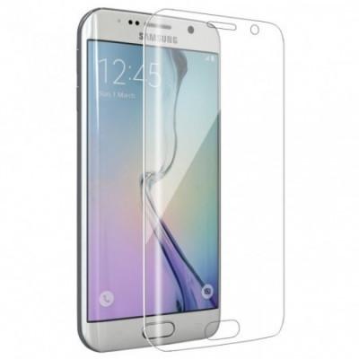 Folie de sticla 3D transparenta compatibila cu Samsung Galaxy S7 Edge ( CLEAR ) foto