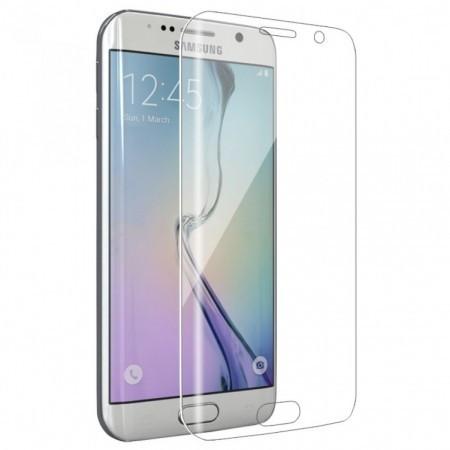 Folie de sticla 3D transparenta compatibila cu Samsung Galaxy S7 Edge ( CLEAR )