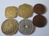 Lot 6 monede colectie,vedeti imaginile, Europa, Cupru-Nichel