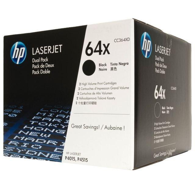 Toner Original pentru HP Negru Dual Pack, compatibil LJ P4xx5, 2x24000pag...