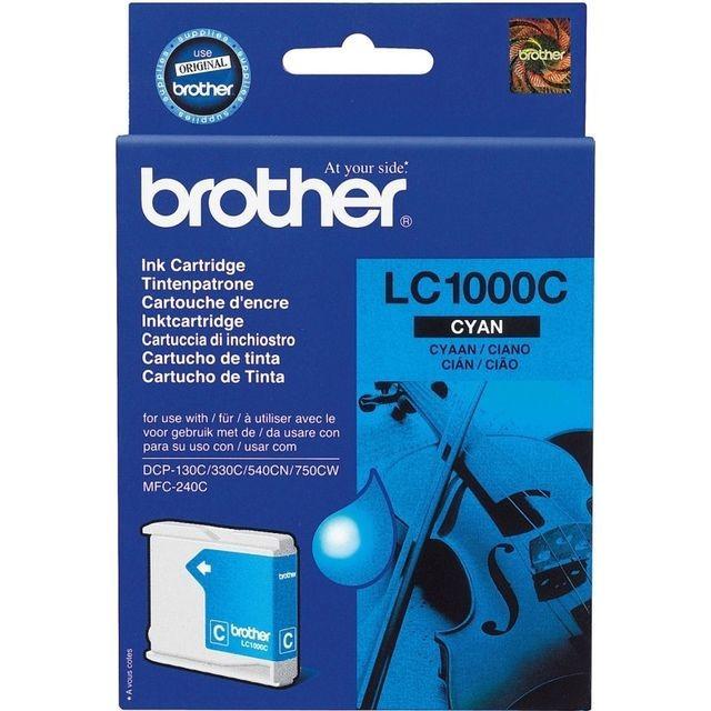 Cartus cerneala Original Brother Cyan, compatibil DCP-130C/330C/540CN, 400pag...