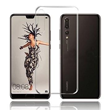 Husa Elegance Luxury slim TPU transparent pentru Huawei P20 PRO