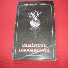 Adrian Paunescu - Pamantul deocamdata