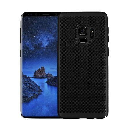Husa Elegance Luxury Mesh Black pentru Samsung Galaxy S9