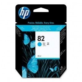 "Cartus cerneala Original HP Cyan 82, compatibil DesignJet 111, 28ml ""CH566A"""
