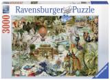 Puzzle Oceania, 3000 piese, Ravensburger