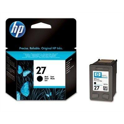Cartus cerneala Original HP Negru 27, compatibil DJ3320/3xxx/OJ4315/4355/5610,... foto