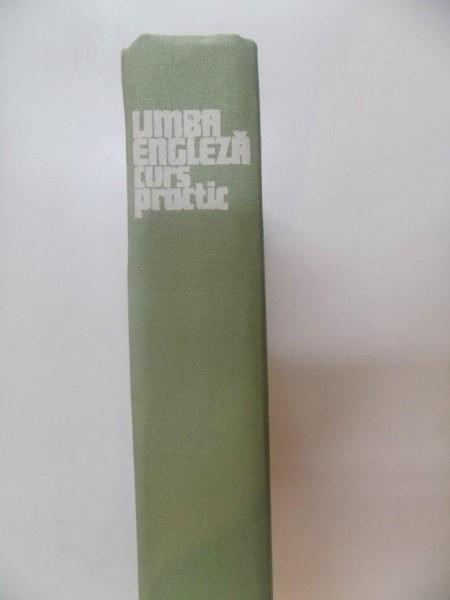 LIMBA ENGLEZA , CURS PRACTIC DE VIRGILIU STEFANESCU DRAGANESTI , ADRIAN NICOLESCU , VICTOR HANEA , BUCURESTI 1977