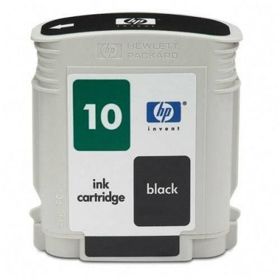 Cartus cerneala Original HP Negru 10, compatibil DesignJet... foto