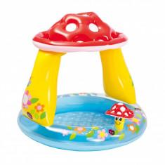 Piscina gonflabila Lumi pentru copii, Tip Ciupercuta cu protectie UV, 1-3 ani