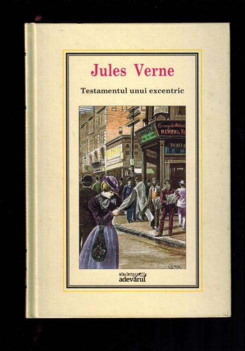 Jules Verne - Testamentul unui excentric, Adevarul 2010, nr 30 al colectiei foto mare