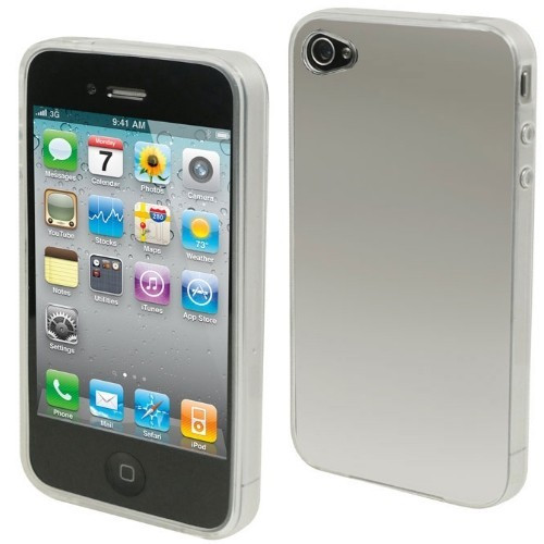 Husa Elegance Luxury slim transparenta pentru Apple Iphone 4 / Apple iPhone 4S !