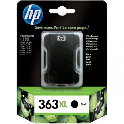 Cartus cerneala Original HP Negru 363, compatibil PhotoSmart... foto
