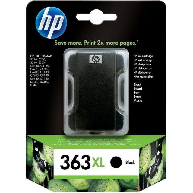 Cartus cerneala Original HP Negru 363, compatibil PhotoSmart...
