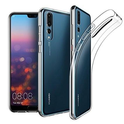 Husa Elegance Luxury slim TPU transparent pentru Huawei P20 PRO Plus