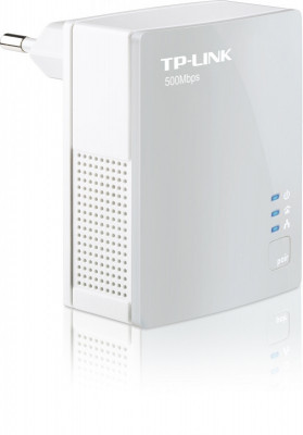 "Adaptor Powerline 500Mbps, ultra compact, port 100M, TP-LINK ""TL-PA4010"" foto"