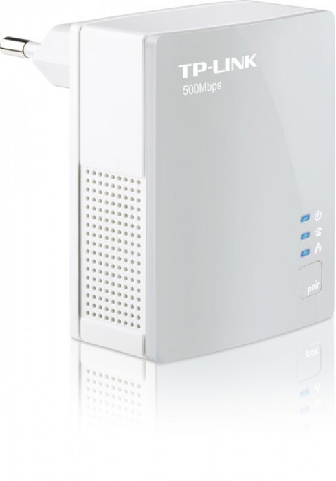 """Adaptor Powerline 500Mbps, ultra compact, port 100M, TP-LINK """"TL-PA4010"""""""
