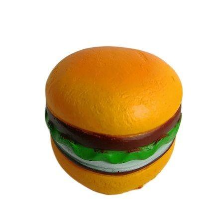 Jucarie Squishy cu revenire lenta in forma de hamburger inimioara foto mare