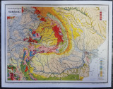 Harta Romania Geologica