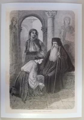 Gravura Manastirea Horezu foto