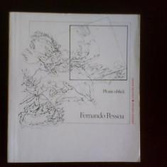 Fernando Pessoa Ploaie oblica, Alta editura