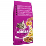 Whiskas Uscat Adult cu vita 14kg