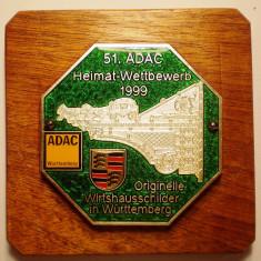 5.577 PLACHETA ADAC GERMANIA AUTO WÜRTTEMBERG WANGEN 1999, Europa
