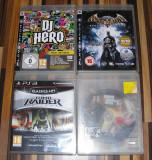 Lot 4 jocuri Play Station 3 PS3 - GTA - Liberty City, Batman, Tomb Raider