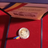MONEDA AUR-22K- 500 LEI-1999-150 DE ANI DE LA REVOLUŢIA ROMÂNĂ DE LA 1848 BNR