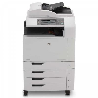 Imprimanta Multifunctionala HP Laser Color CM6040f MFP, A3/A4, 40 pagini/minut color, 220.000 pagini/luna, 600 x 600 DPI, Duplex, USB, Network, Fax, foto