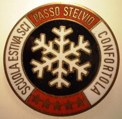 I.771 ITALIA INSIGNA SPORT SCHI SCUOLA ESTIVA SCI CONFORTOLA PASSO STELVIO email foto