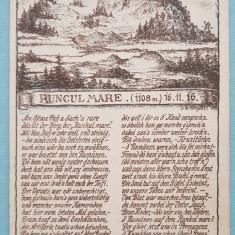 Carte Postala Runcu Mare - Hunedoara, Circulata, Printata