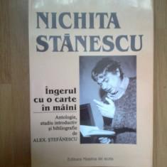 D10 Ingerul Cu O Carte In Maini - Nichita Stanescu