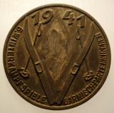 I.766 INSIGNA GERMANIA WWII 6 WINTERKAMPFSPIELE GARMISCHPARTENKIRCHEN 1941 SCHI, Europa