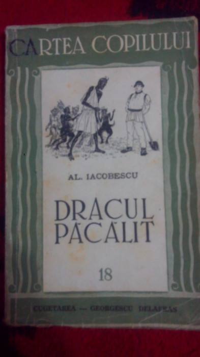 Dracul pacalit-povesti-Al.Iacobescu