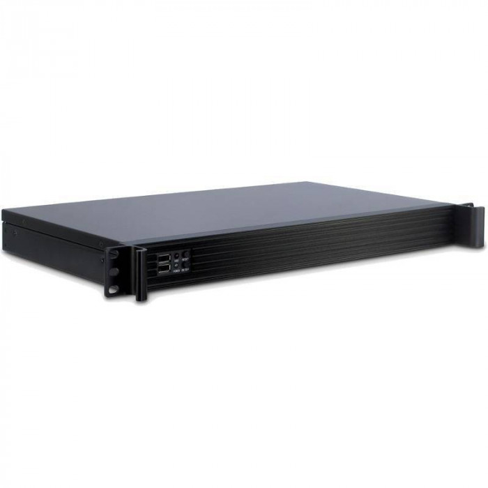 Carcasa server Inter-Tech IPC 1U-K-126L Negru foto mare
