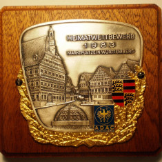 5.564 PLACHETA ADAC GERMANIA AUTO WÜRTTEMBERG MARKGRÖNINGEN 1983, Europa