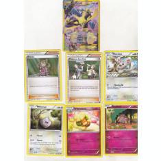 bnk crc Cartonase de colectie - Pokemon 2016 Fates Collide - 25 diferite